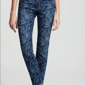 Paige skyline ankle peg laser bamboo jeans
